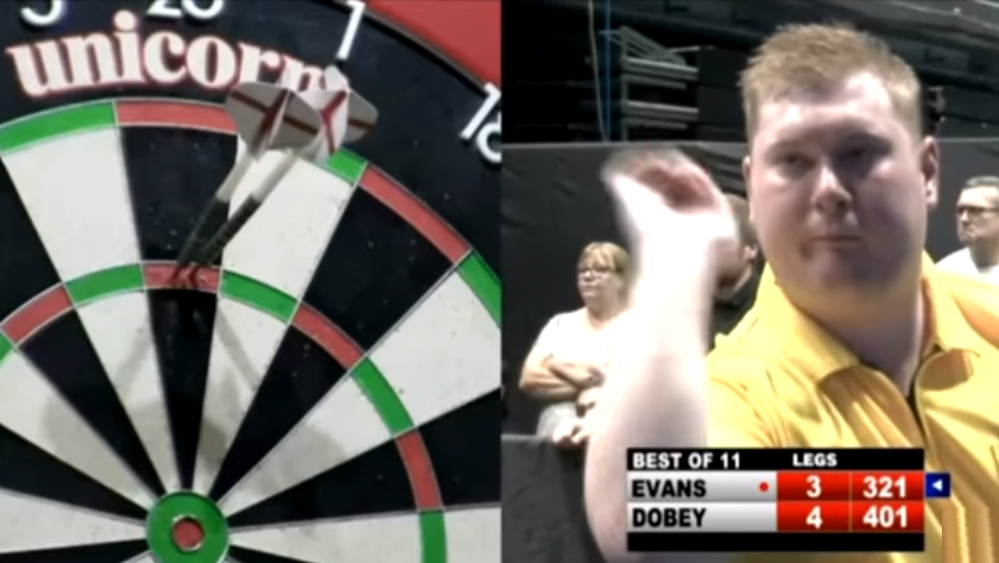 Fastest 9 Dart Finish Attempt Ever Seen On ProTour
