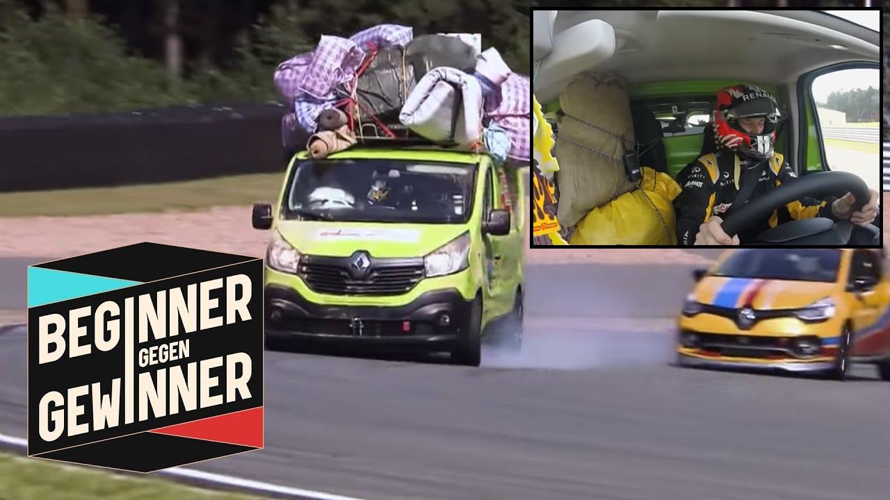 Watch Nico Hülkenberg Racing With A Fully Packed Renault Van