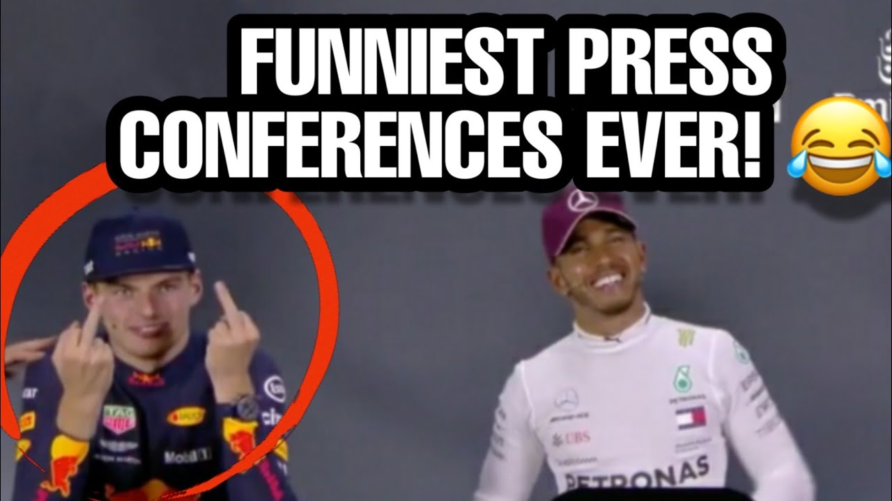 Funniest Moments Ever In Formula 1 Press Conferences