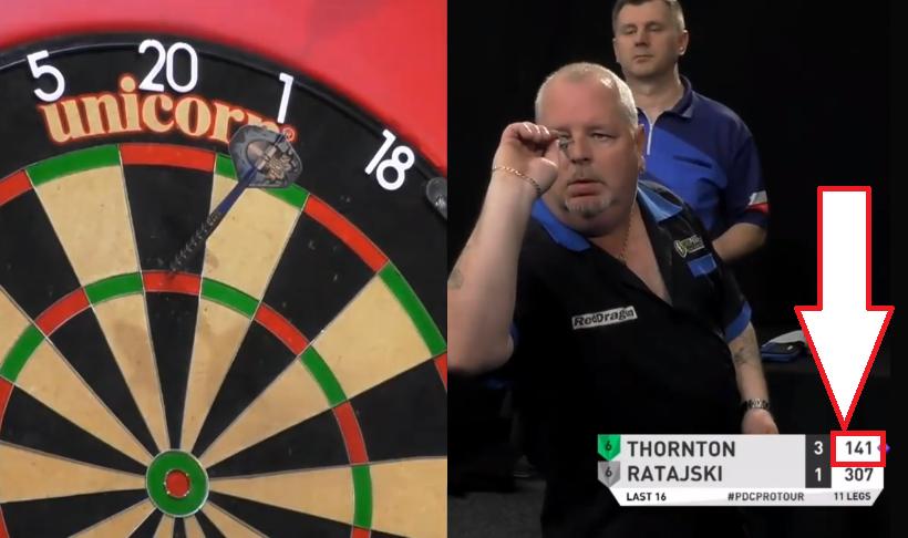 VIDEO: Robert Thornton Hits 9-Darter At Players Championship 16