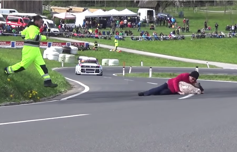 This Marshall Was A True Hero During Rechberg Hill Climb 2019