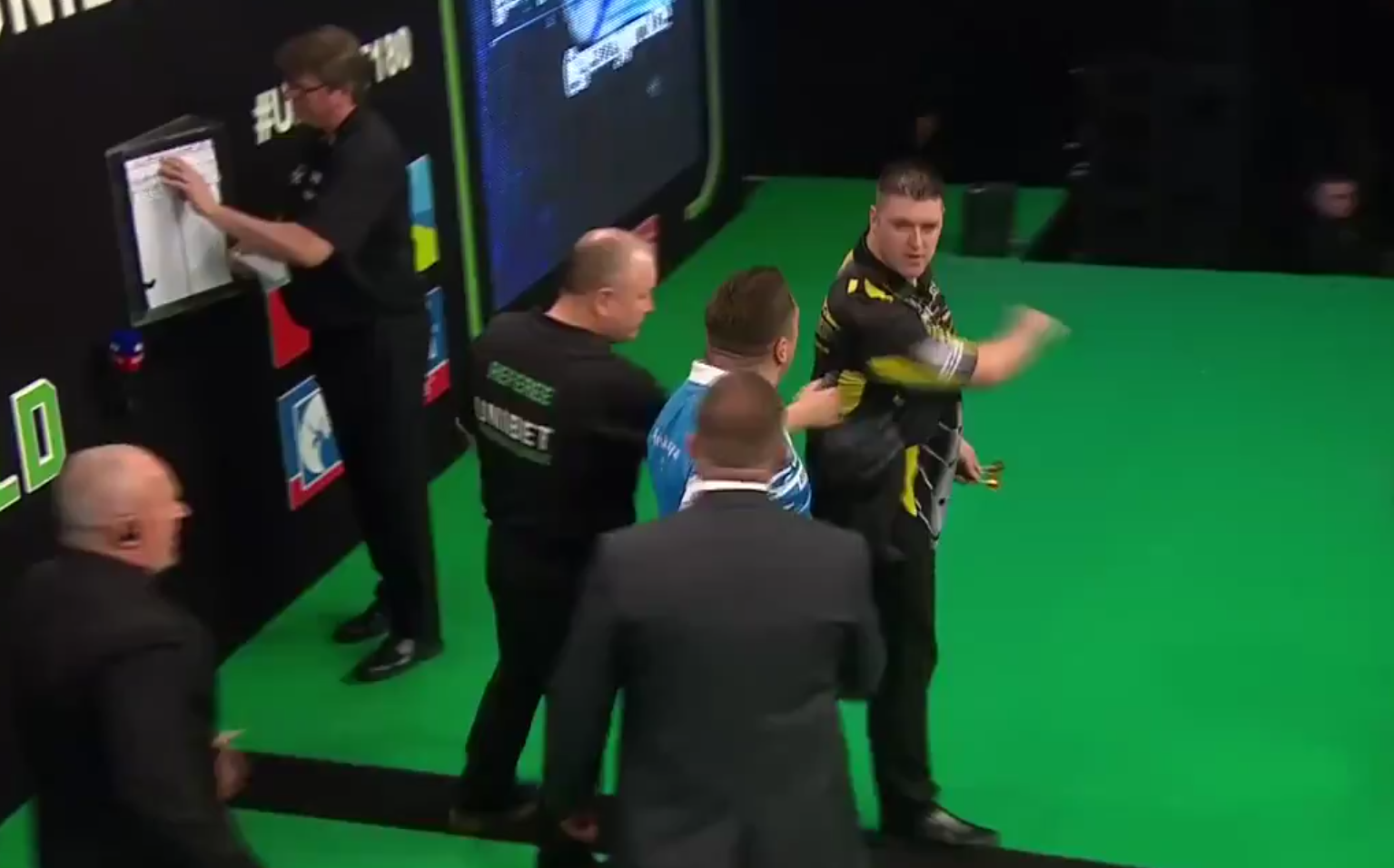 Daryl Gurney Got Fined For This Incident With Gerwyn Price
