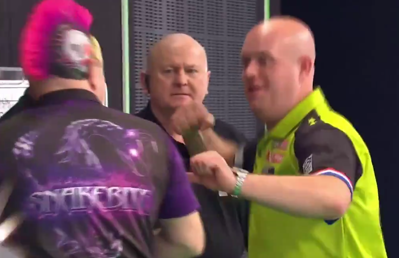 Michael van Gerwen And Peter Wright Making Fun of Gurney/Price Incident