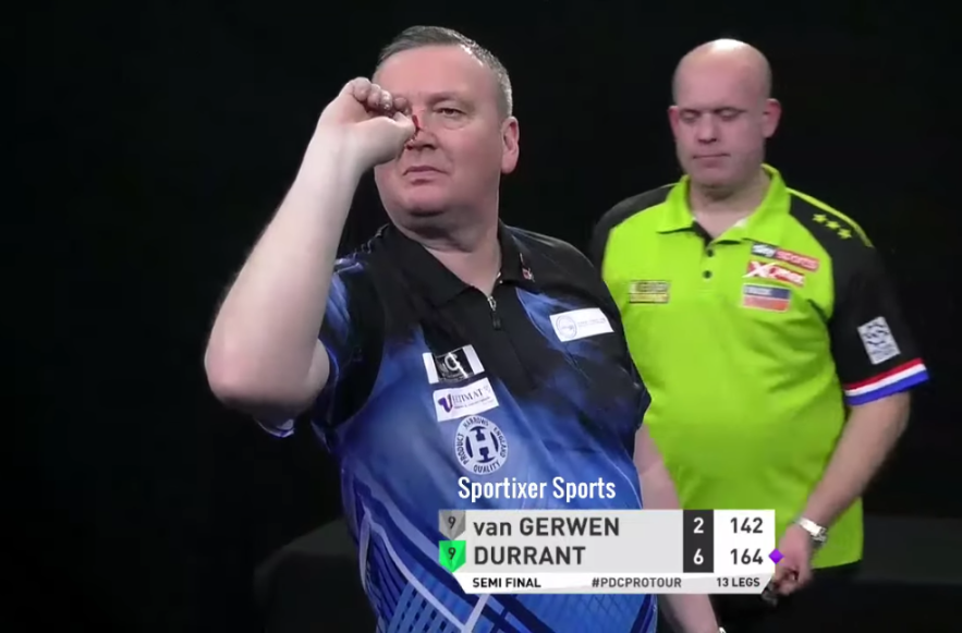 VIDEO: Glen Durrant Beats Michael van Gerwen In Semi Final