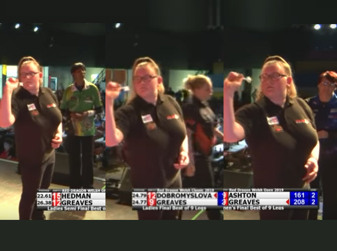 15 Year Old Beats Hedman, Dobromyslova And Ashton In A Row