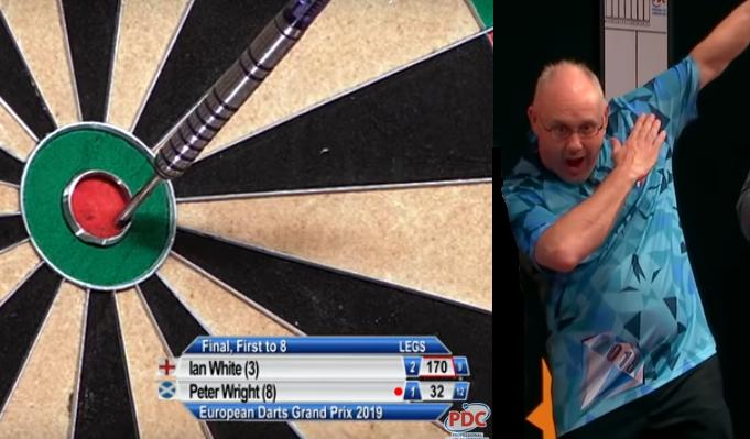 Watch European Darts Grand Prix Final: Ian White vs Peter Wright