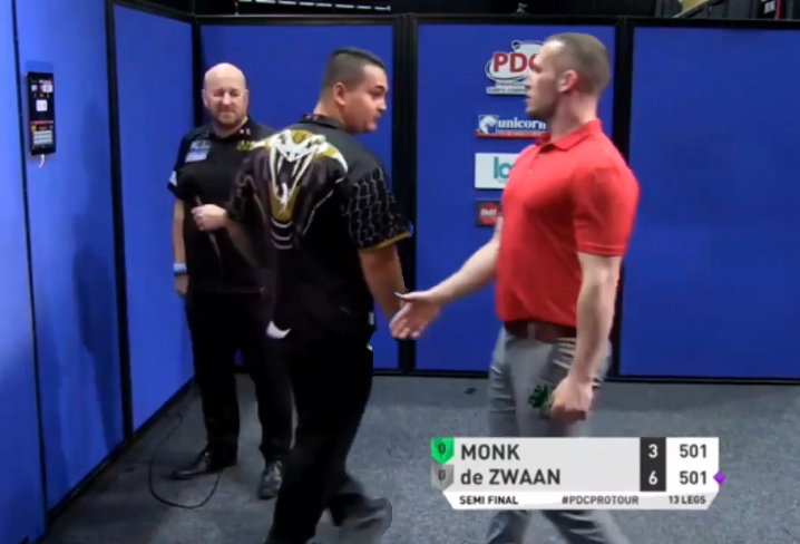 Arron Monk Thought Game Was Over In Semi Final Against De Zwaan