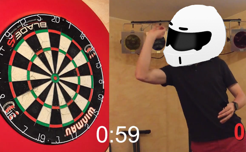 'Stig of Darts' Beats World Record In 60-Second Challenge
