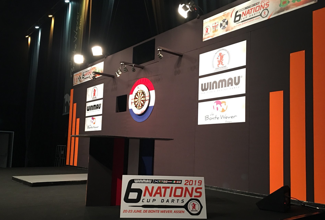 Livestream: Winmau Six Nations Cup 2019 Saturday