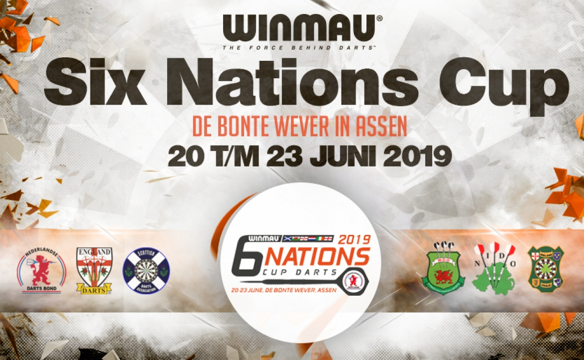 Livestream: Winmau Six Nations Cup 2019