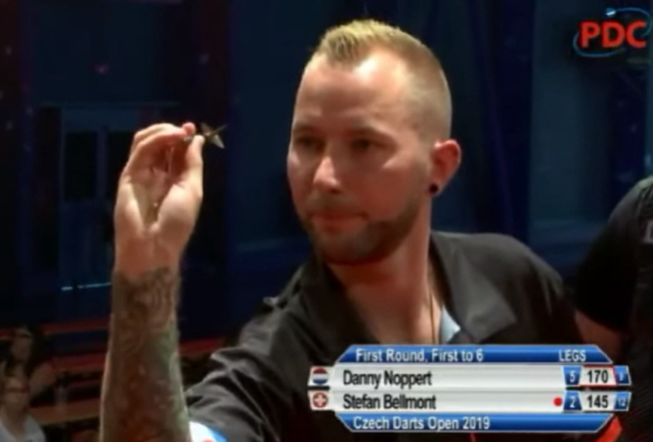 Watch Danny Noppert Going For 170-, 148- And 170 Checkout