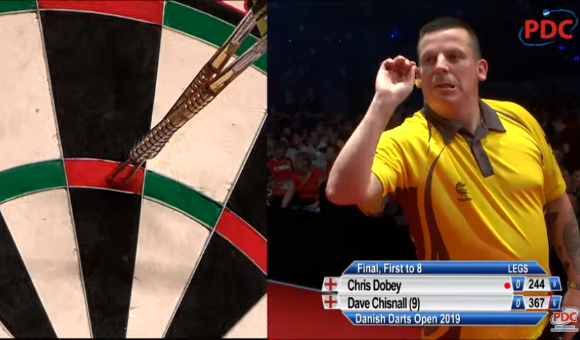 Watch Danish Darts Masters Final: Dave Chisnall v Chris Dobey