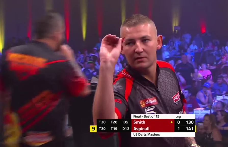 CRAZY DARTS: Aspinall & Smith Hit Amazing First 2 Legs in Final