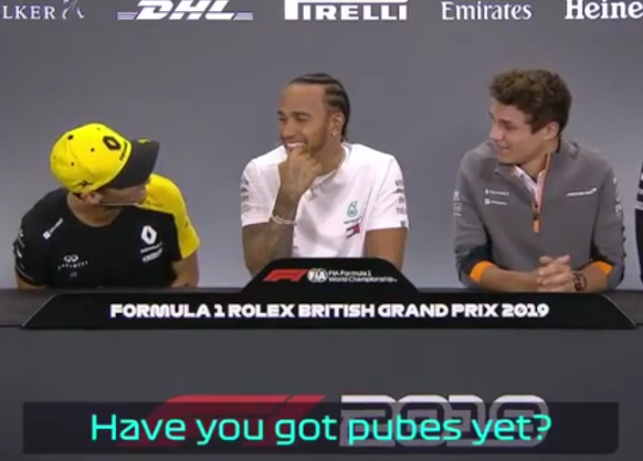 This Is What Happened Making Lando Norris Lose It At Press Conference