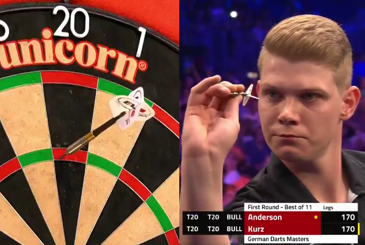 22 Year Old Nico Kurz Hits 170 Checkout And Beats Gary Anderson