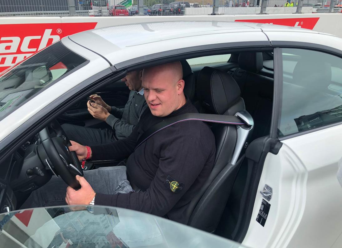 Michael van Gerwen Raced Around Nurburgring In A Sports Car