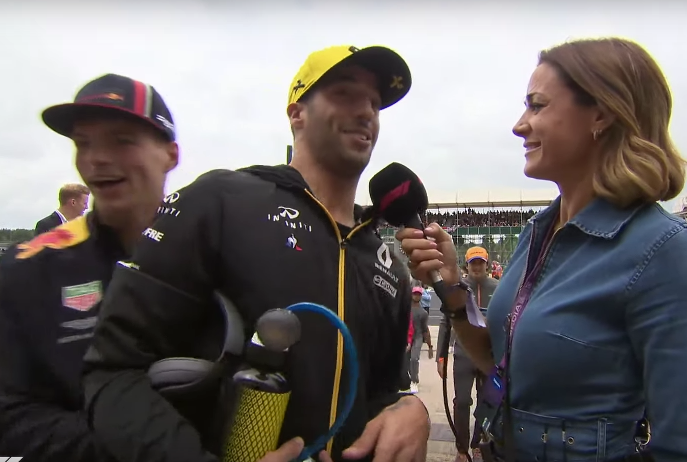 Max Verstappen Had A Surprise For Daniel Ricciardo Before The Race