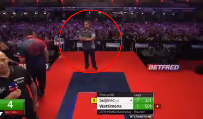 Jermaine Wattimena's Reaction On Suljovic Slowing Down The Game
