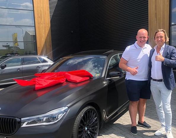 Michael van Gerwen Just Bought This Car Worth 125,000 Euro