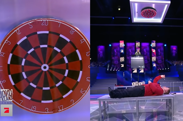 Watch This PDC Player In A Game Of Vertical Darts
