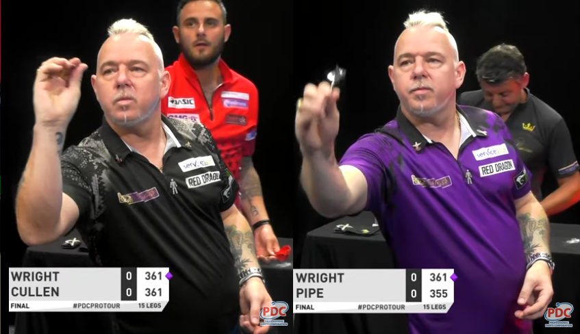 Watch Players Championship Finals: Peter Wright vs Pipe & Cullen