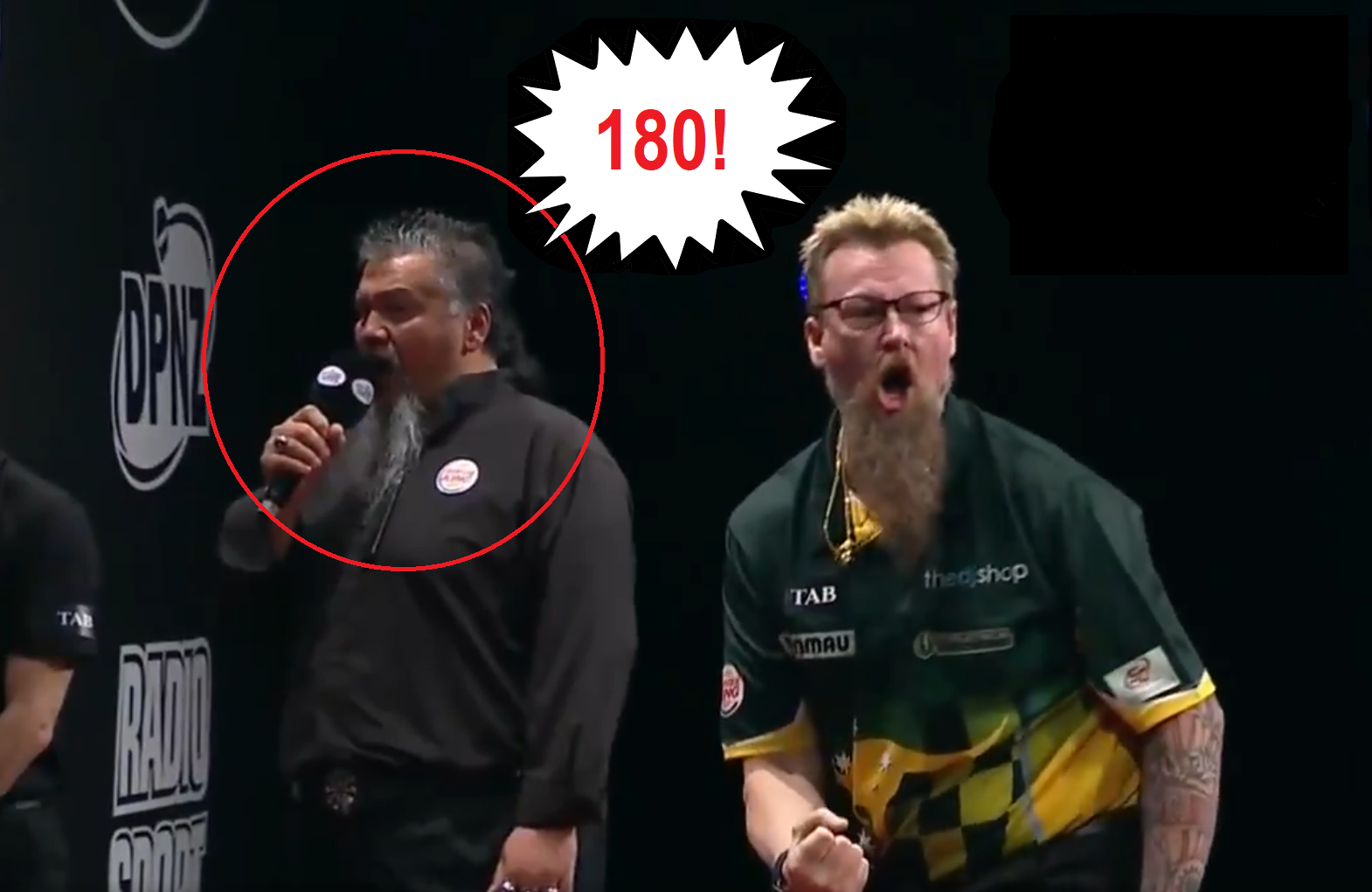 We Bring You The '180' Sound Of New PDC Referee Terry Jowett