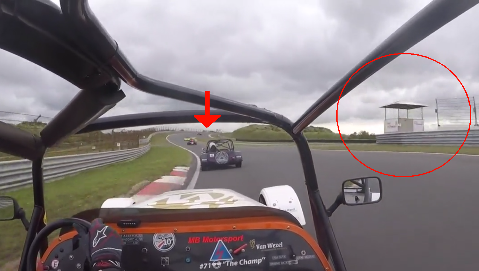 New Onboard Footage Shows Big Marshall Fail At Zandvoort's Fire Crash