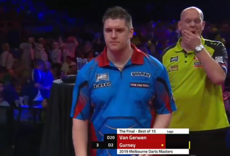 Watch Final Melbourne Darts Masters: Van Gerwen v Gurney