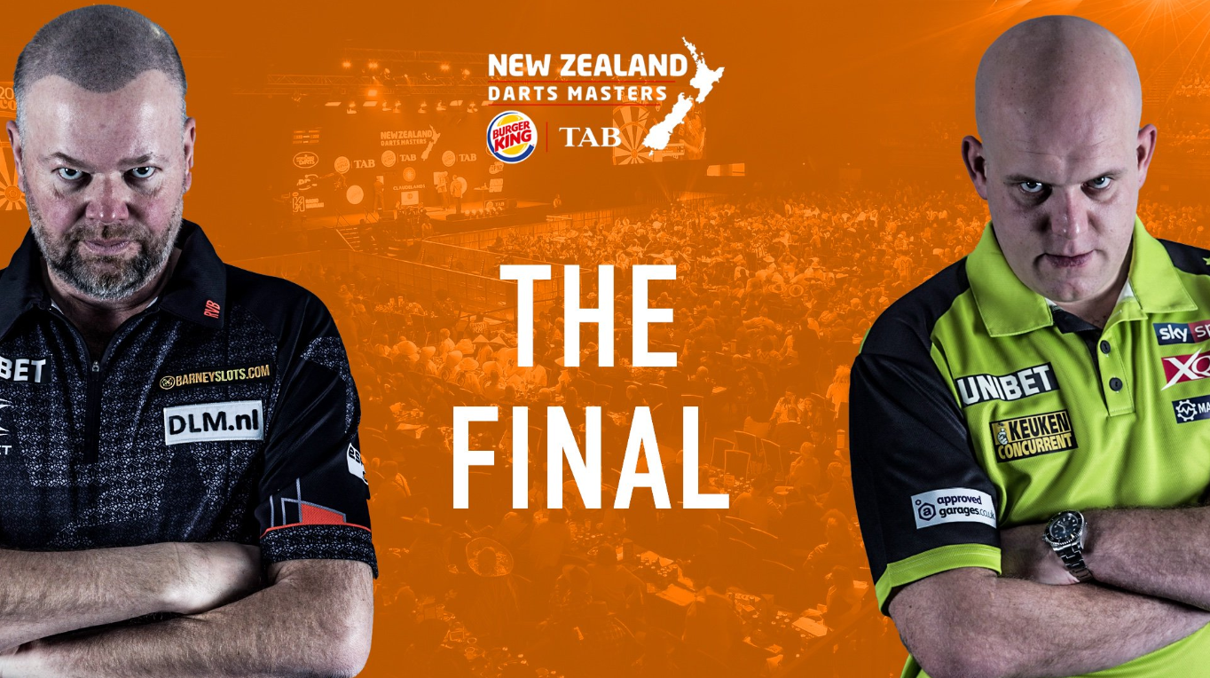 Watch Highlights Of Final New Zealand Darts Masters: Van Barneveld vs Van Gerwen
