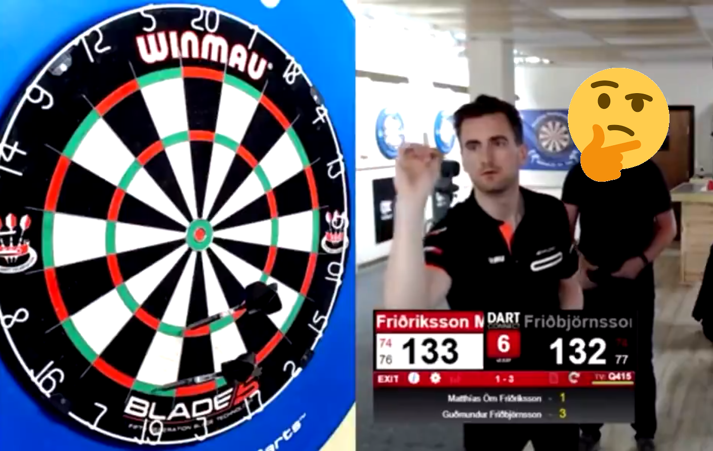 Never Before Seen 133 Checkout At Icelandic Pro Tour 8