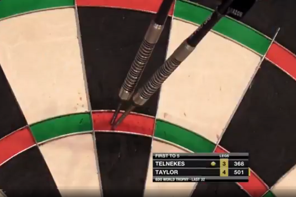 VIDEO: Taylor Hits 10-Darter On Stage To Win Match Last Weekend