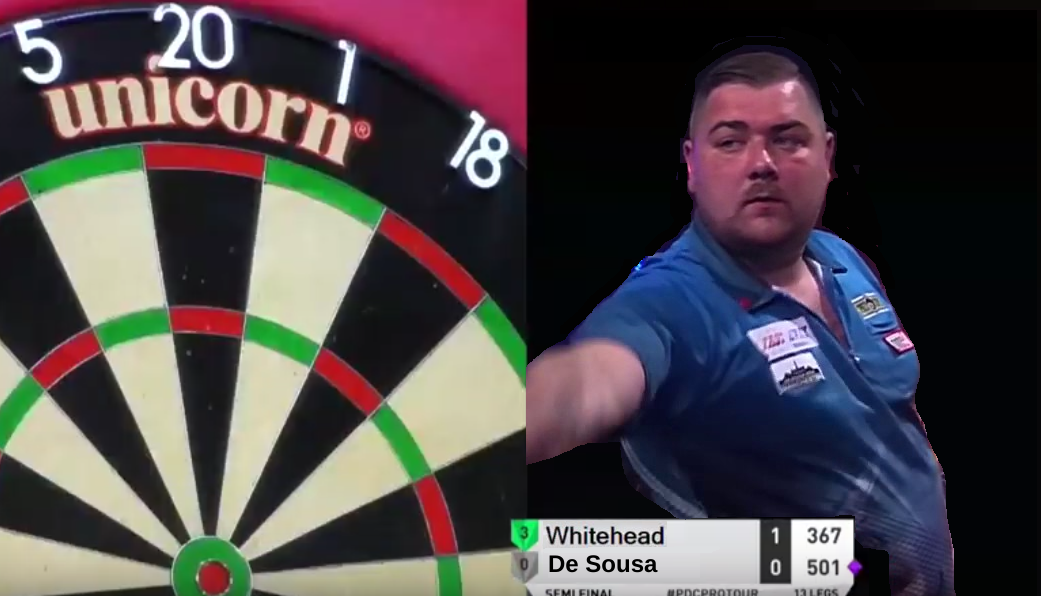 Conan Whitehead Set Highest Average of 2019 With Back To Back 10-Darters