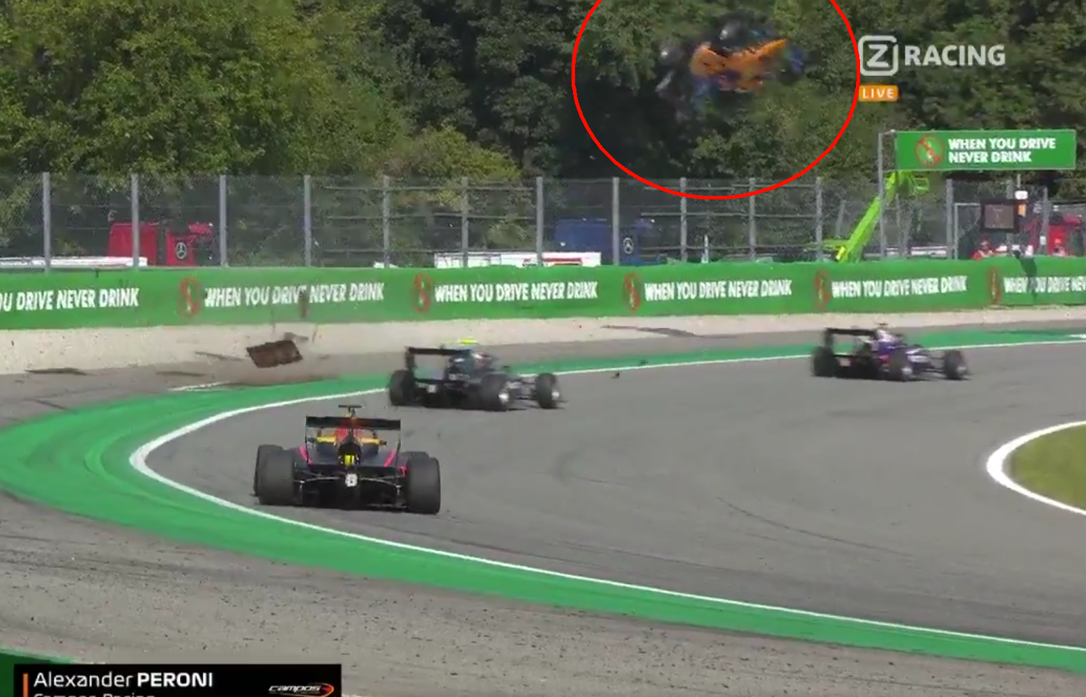 VIDEO: Horror Crash During F3 At Monza, Must See To Believe