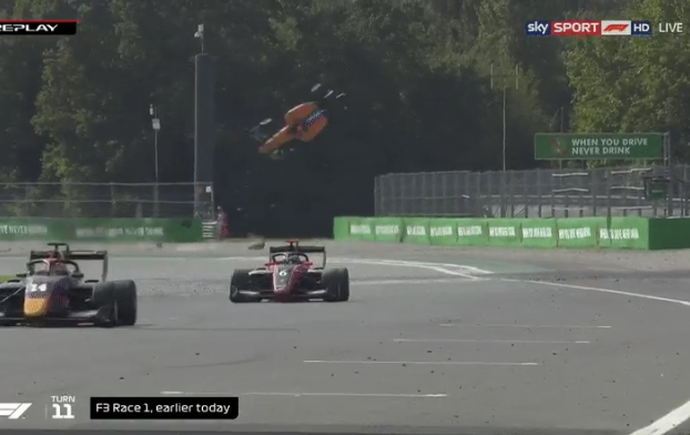 VIDEO: New Angle On Alex Peroni's Horror Crash At Monza