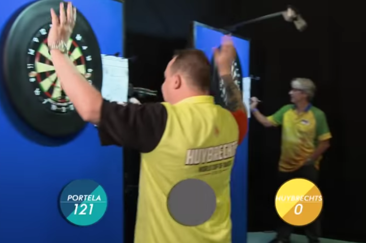We Have A New Record In Speed Darts Which Ended In Style