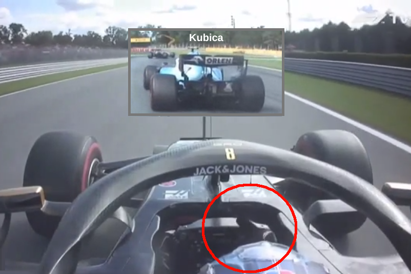 Romain Grosjean Showed Robert Kubica Middle Finger At Monza