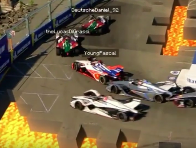 A Supporter Came Up With This Minecraft Formula E-Dition