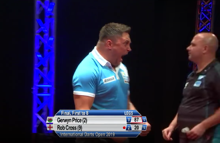 Gerwyn Price Screaming Compilation From International Darts Open Final