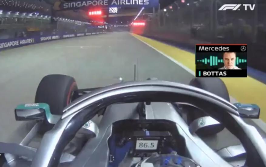 Valtteri Bottas Uncensored Team Radio Message To Lewis Hamilton