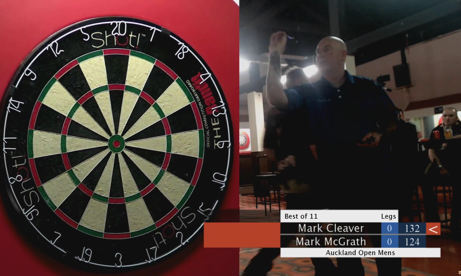 Watch Auckland Open Finals Including Two 100+ Bulls-Eye Checkouts