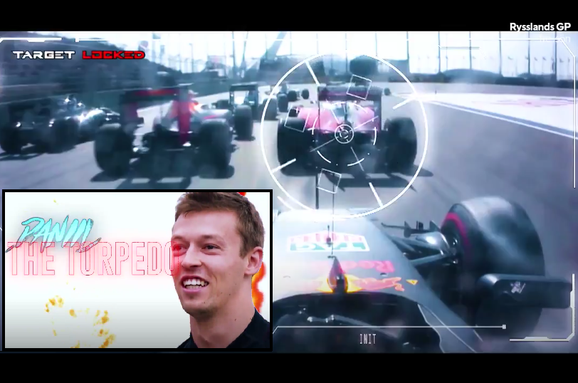Hilarious Russian Grand Prix Promo With Daniil 'The Torpedo' Kvyat