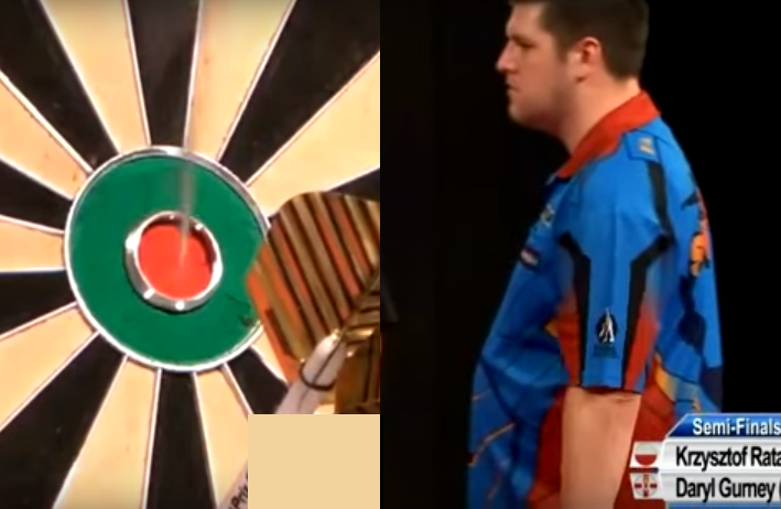 Drama End For Daryl Gurney On Bulls-Eye From 164 Checkout in Gibraltar