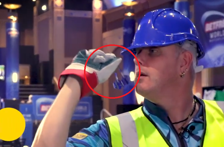 Ian White's Heavy Duty Gloves Challenge Goes Wrong 🙈