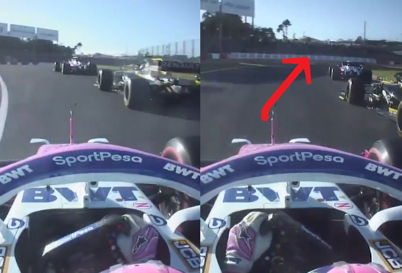 Sergio Perez Showed Amazing Overtake Around Outside In 'S' Curve