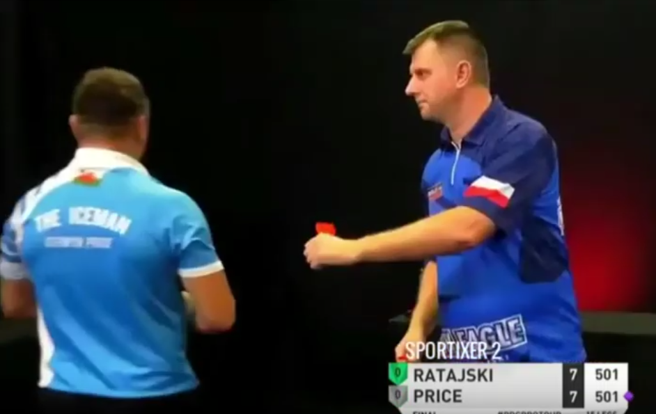 VIDEO: Gerwyn Price's Furious Moments During Yesterday's Final