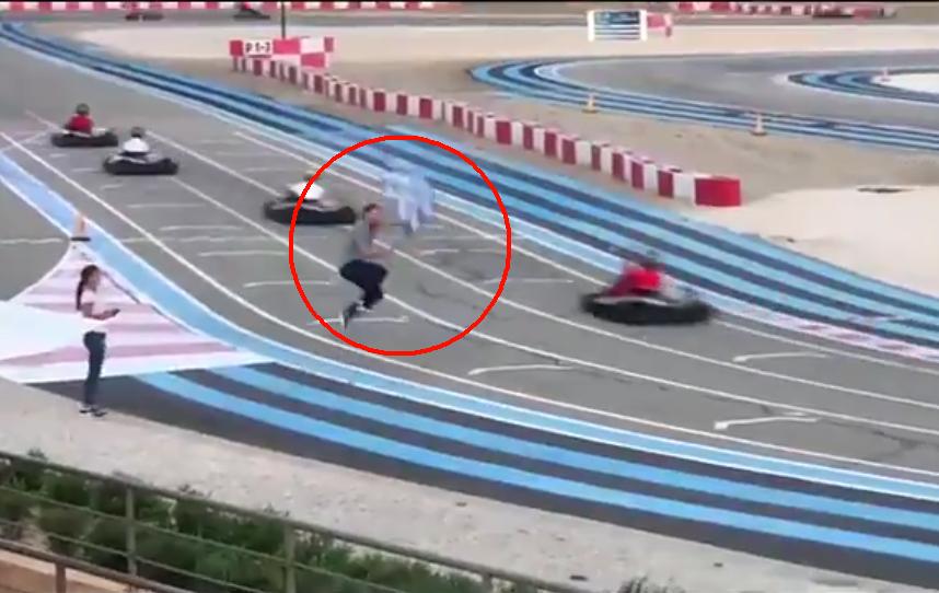 VIDEO: Watch Sebastian Vettel In Action Like Back In The 70's