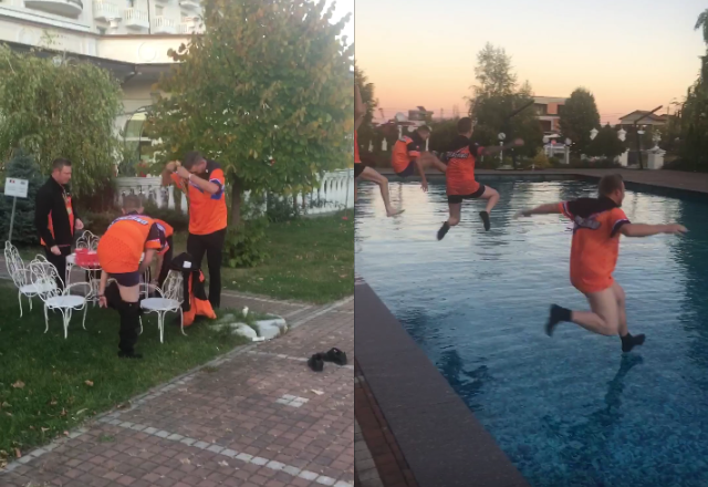 Dutch Team Lost A Bet After Winning Overall WDF World Cup 2019