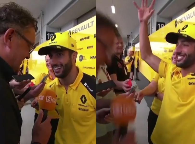 Daniel Ricciardo Did Another Hilarious 'Arigatō'-Challenge In Japan