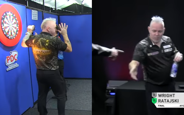 Funny Moments During Final: Peter Wright vs Krzysztof Ratajski 😅