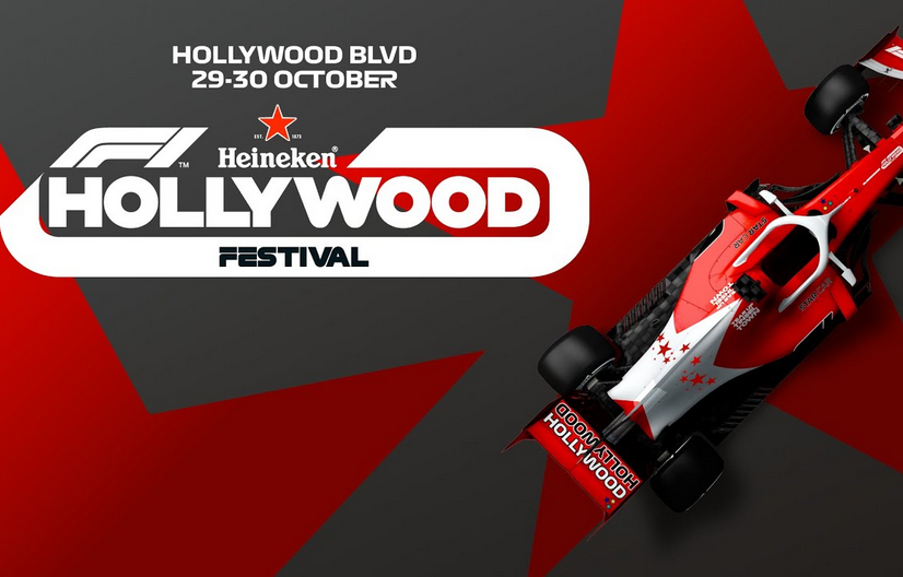 Livestream: F1 Event On Hollywood Boulevard